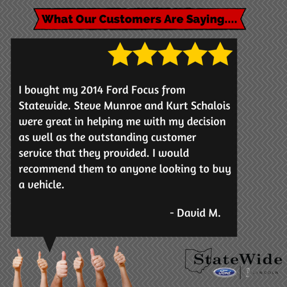 Statewide Ford - Testimonial