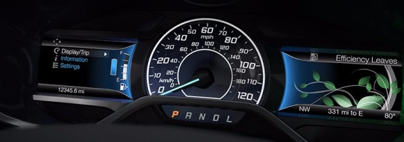 Ford Fusion with Smartgauge EcoGuide available near Fort Wayne